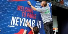 La superstar brésilienne fait son arrivée ce vendredi à Paris.