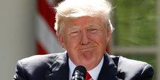 Le président américain Donald Trump a affirmé le souhait de sortir de l'Accord de Paris en juin dernier, l'estimant trop coûteux pour les Etats-Unis.