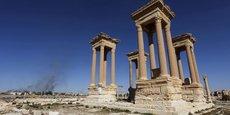 La cité de Palmyre, occupée par les djihadistes du groupe Etat islamique, a été libérée par l'armée syrienne en mars 2017.