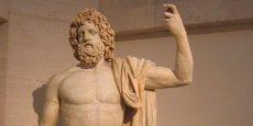 Statue de Jupiter appartenant au Musée du Louvre