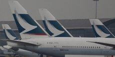 Ce protocole d'achat intervient alors que Cathay Pacific a fait état la semaine dernière de sa plus lourde perte semestrielle depuis au moins 20 ans et a dit ne pas s'attendre à une amélioration d'ici la fin de l'année car elle continue de perdre des parts de marché face à ses concurrents de Chine continentale.