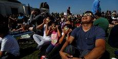 Eclipse solaire totale d'Ouest en Est aux Etats-Unis