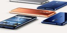 HMD, qui a besoin d'un vaisseau amiral puissant pour incarner le retour de Nokia aux affaires, commercialisera dès septembre le Nokia 8, un smartphone haut-de-gamme sous Android destiné à jouer dans la même cour que Samsung et Apple, les deux grands leaders de ce marché.