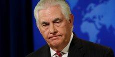AFGHANISTAN: LES USA VONT FAIRE PRESSION SUR LE PAKISTAN, DIT TILLERSON