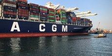 CMA-CGM VA FAIRE CONSTRUIRE EN CHINE NEUF PORTE-CONTENEURS