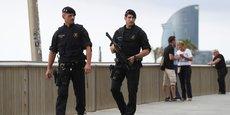 LA POLICE RÉGIONALE CRITIQUÉE APRÈS LES ATTENTATS EN CATALOGNE