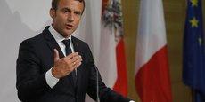 MACRON CONFIRME SES PRIORITÉS POUR RÉFORMER L'UE ET LA ZONE EURO