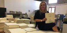 C'est la tout première fois en France qu'un livre paraît d'abord en braille, Adeline Coursant, directrice du Cteb