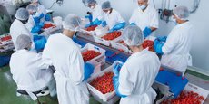 Il était un Fruit, l'une des trois PME certifiées bio du pôle de transformation : l'un des débouchés offert par Mercadis aux producteurs