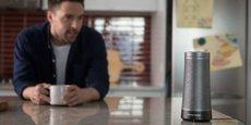 Microsoft a annoncé en mai le lancement de son enceinte connectée, baptisée Invoke et dotée de son assistant virtuel Cortona.