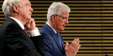 Les discussions de cette semaine n'ont tout simplement permis d'enregistrer  aucun progrès décisif sur les sujets principaux liés au retrait du Royaume-Uni de l'Union européenne, a déploré le négociateur en chef de l'UE Michel Barnier.