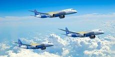 Embraer a vendu plus de 360 avions régionaux E175 aux compagnies aériennes en Amérique du Nord depuis janvier 2013