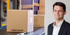 Cdiscount expédiera en 2017 près de 30 millions de collis. A droite, Pierre-Yves Escarpit, directeur des opérations de Cdiscount