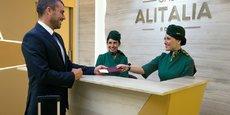 Anne Falco, Directrice Générale d'Alitalia France nous parle du futur d'Alitalia.