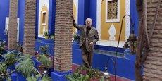 L'homme d'affaires disparaît quelques semaines avant l'inauguration de deux musées dédiés à l'oeuvre d'Yves Saint Laurent, l'un à Paris et l'autre à Marrakech (photographié dans cette ville en 2010).