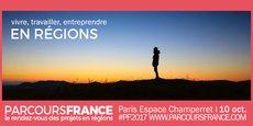 PARCOURS FRANCE, rendez-vous des projets en région