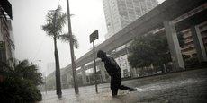 L'ouragan Irma frappe Miami, dimanche 10 septembre.