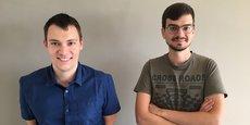 L'application d'Alexis Cassan et Philippe Chaix devrait bientôt permettre de parier en direct sur l'issue des matchs de football ou de rugby dans les stades connectés