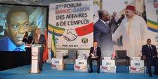Le 2e Forum Maroc-Gabon des affaires et de l'emploi s'est tenu en mai 2015 à Rabat.