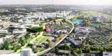 Le tertiaire va notamment se développer au futur quartier Enova de Labège.
