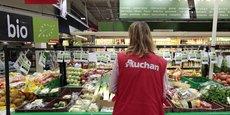 Conscient des attentes santé des clients, Auchan se focalise également autour « du bon, du sain et du local », en passant en revue la totalité de ses marques distributeurs.