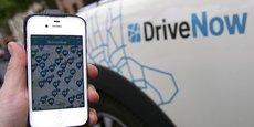 Avec 160 personnes par voiture, DriveNow croit à la voiture partagée.