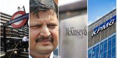 Atul, un des trois frères businessmen de la puissante famille indienne Gupta, naturalisés sud-africains.
