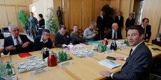 Le secrétaire d'Etat à l'Economie Benjamin Griveaux, a rencontré les représentants syndicaux de Nokia ce jeudi.