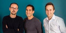 Thomas Beylot, Charles Egly et Geoffroy Guigou, les cofondateurs de l'ex-Prêt d'Union, devenu Younited Credit.