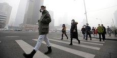 Pékin a connu l'un de ses plus important pic de pollution le 21 décembre 2016, recouvrant près d'un dixième de la surface de la Chine.