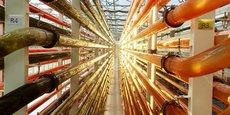 Microphyt compte à ce jour 5 photobioréacteurs tubulaires sous serres dans son unité de production à Baillargues (34).