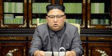 Le leader nord-coréen Kim Jong-Un a fait une rare déclaration publique sur les médias officiels (Photo non datée, diffusée par l'agence officielle KCNA le 22 septembre 2017 à Pyongyang).