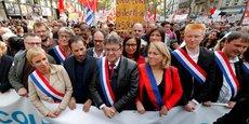 La manifestation organisée à l'appel de La France insoumise (LFI) contre le coup d'Etat social d'Emmanuel Macron a réuni cet après-midi à Paris entre 30.000 personnes, selon la police, et 150.000, selon les organisateurs.