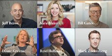 Le fonds de capital-risque Village Global revendique être soutenu par des entrepreneurs ayant le mieux réussi au monde comme Bill Gates (Microsoft), Jeff Bezos (Amazon) ou encore Mark Zuckerberg (Facebook).