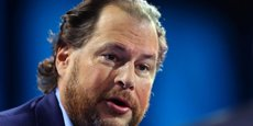 Marc Benioff, le PDG de Salesforce.