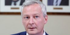 Bruno Le Maire espère atteindre une croissance de 1,8% en 2017, soit plus que prévu.