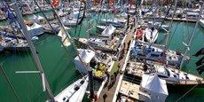 Bateaux à flot pendant le Grand Pavois 2017