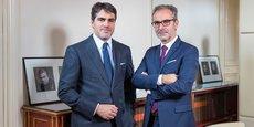 Laurent Schimel, à gauche, conserve la direction générale de Zilli, et Arnaud Marion (à droite), nouvel actionnaire de la marque lyonnaise.
