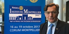 Gérard Allonneau, directeur administrateur du Rotary International