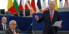 Il n'y a pas de rançon, d''exit bill', il y a seulement le fait que nous vous demandons de solder vos comptes, ni plus ni moins, a lancé le négociateur en chef de l'UE Michel Barnier à l'adresse de Londres.