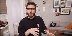 L'humoriste Cyprien totalise plus de 11 millions d'abonnés sur sa chaîne YouTube, plateforme vidéos de Google.