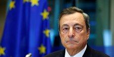 Le président de la Banque centrale européenne (BCE) Mario Draghi.