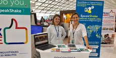 Pitch d'une startup à Paris Charles de Gaule et qui revient pour l'Airport Startup Day