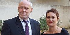 Gilles Capy et Virginie Monnier-Mangue.