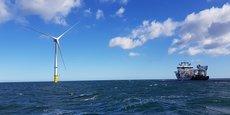 Le parc éolien expérimental de Blyth a été attribué à EDF EN par le Crown Estate en 2014.