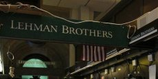 La banque Lehman Brothers a afit faillite en 2008. (Photo Reuters)