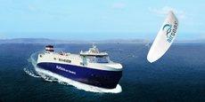 Airseas a mis au point Seawing, une aile automatisée capable de tracter les bateaux.