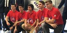 Les étudiants de l'ISEN Nîmes