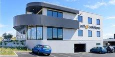 Les nouveaux locaux (1 500 m2) construits par Agysoft à Grabels