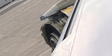 Lors de ce vol Paris-Los Angeles, alors que l'appareil survolait le Groenland avec 497 passagers et 24 membres d'équipage à bord, la soufflante, le premier élément tournant à l'avant du moteur, s'est détachée en vol, entraînant avec elle la perte de l'entrée d'air. Après avoir suivi la nouvelle méthode de traitement des pannes FORDEC, l'équipage, qui a été exemplaire, a dérouté l'avion vers l'aéroport de Goose Bay, Canada (photo prise de l'atterrissage).